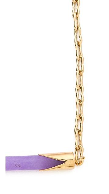Kelly Wearstler Sideways Horn Necklace