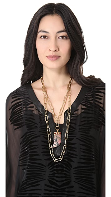 Kelly Wearstler Large Horn Necklace