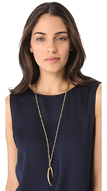 Kelly Wearstler Horn Charm Necklace
