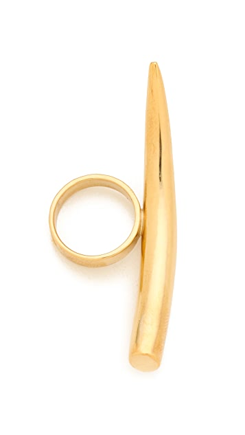 Kelly Wearstler Gold Horn Ring