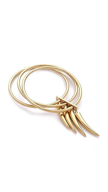 Kelly Wearstler Gold Horn Bangle