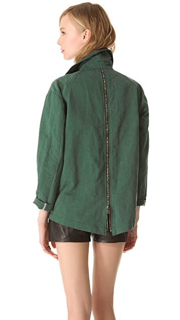Kelly Wearstler Ornamented Linen Jacket
