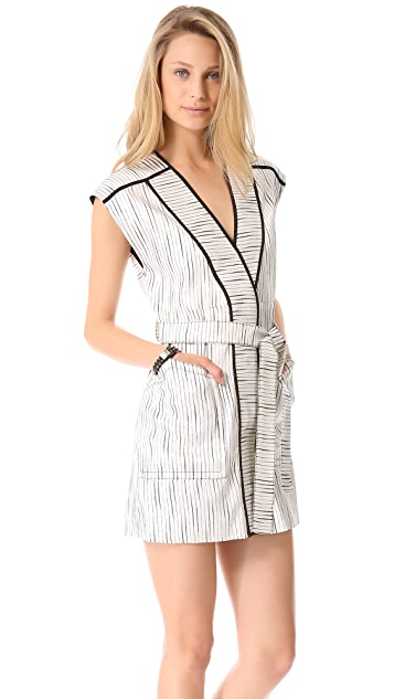 Kelly Wearstler Lurex Slub Dress