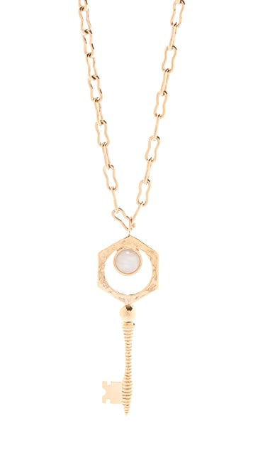 Kelly Wearstler Key Pendant Necklace