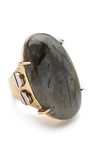 Kelly Wearstler Oval Stone Cocktail Ring