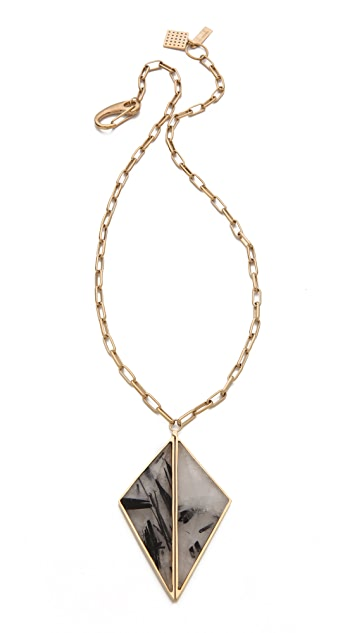 Kelly Wearstler Dual Point Pendant Necklace
