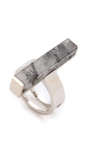Kelly Wearstler Stone Rod Ring