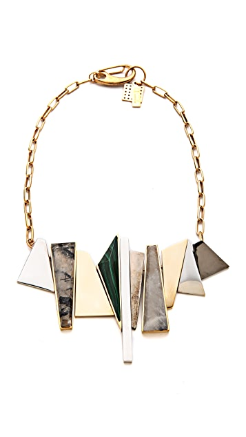 Kelly Wearstler Facet Statement Necklace