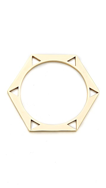 Kelly Wearstler Hexagon Bangle