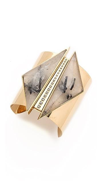 Kelly Wearstler Black Diamond & Quartz Cuff