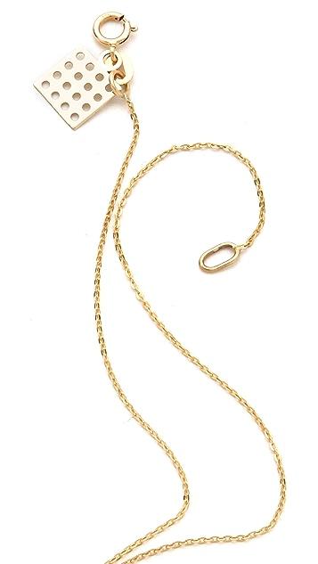 Kelly Wearstler Black Diamond Pendant Necklace