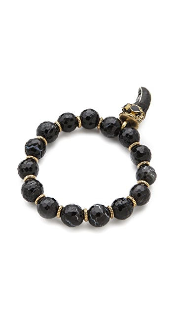 Lacey Ryan Black Agate & Onyx Horn Bracelet