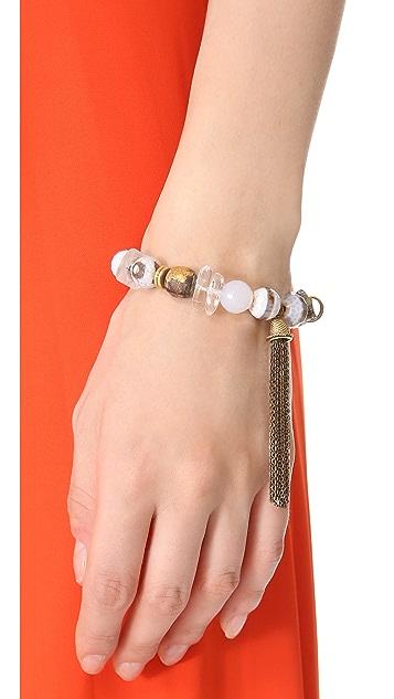 Lacey Ryan Purity Tassel Bracelet