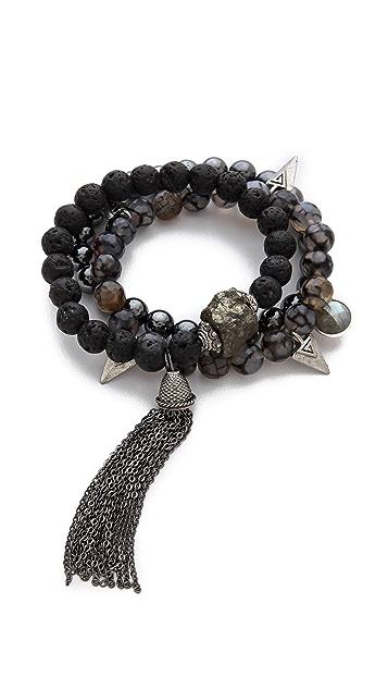 Lacey Ryan Wisdom Tassel Bracelet Set