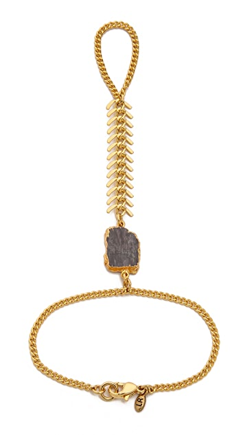 Lacey Ryan Spike Stone Hand Chain