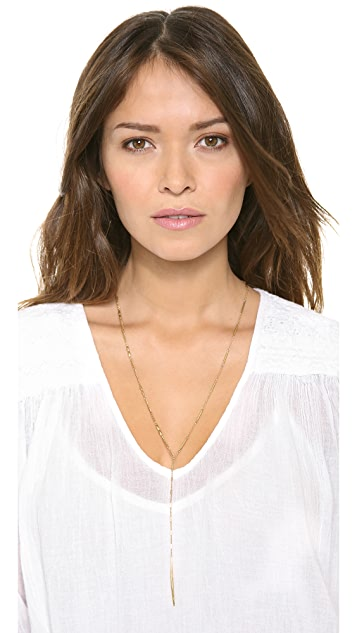 Lacey Ryan Triple Mix Chain Lariat Necklace