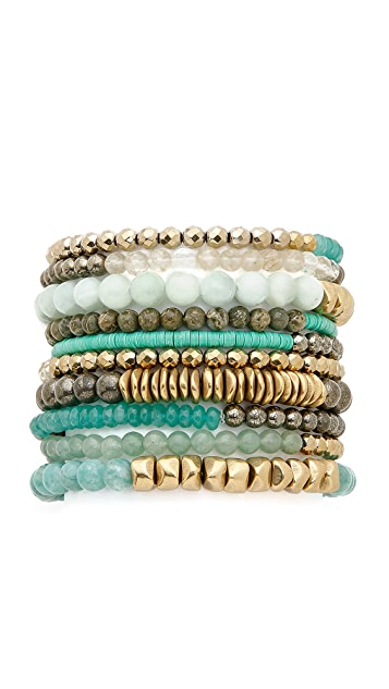 Lacey Ryan Good Vibes Bracelet Set