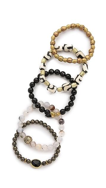Lacey Ryan Rebel Bracelet Set