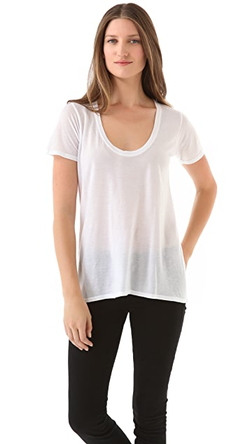 The Lady & The Sailor Basic Tee with Short Sleeves
