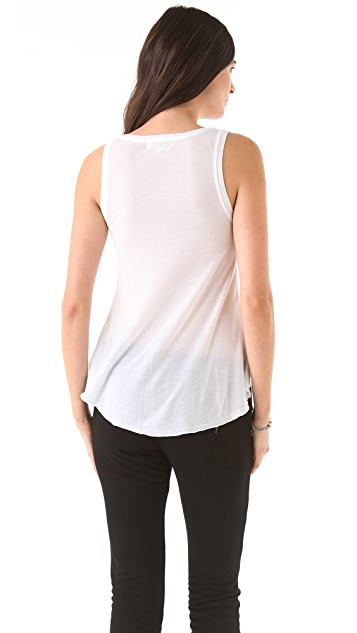 The Lady & The Sailor Flare Tank