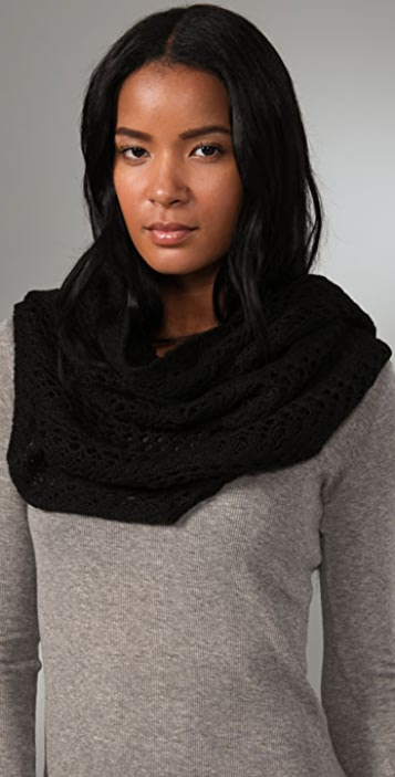 La Fee Verte Knit Infinity Scarf