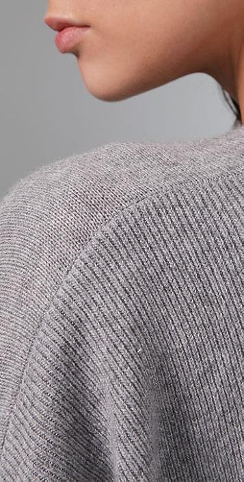 La Fee Verte Oversized Cardigan