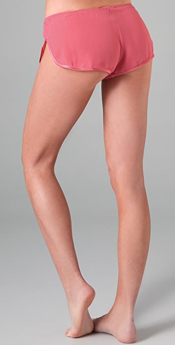 La Fee Verte Chiffon Tap Shorts