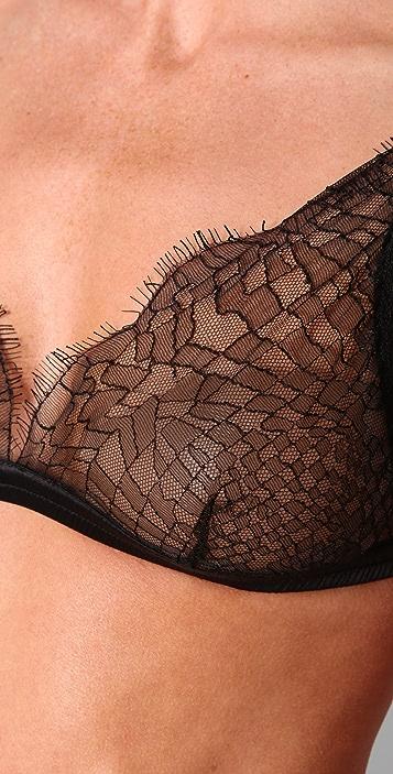 La Fee Verte Web Lace Bralette