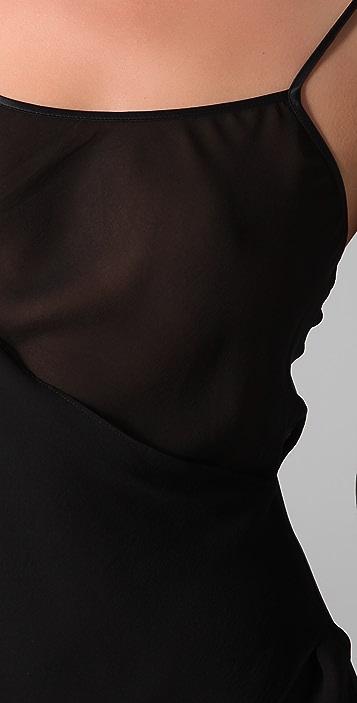 La Fee Verte Front Drape Camisole