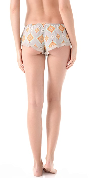 La Fee Verte Silk Boy Shorts