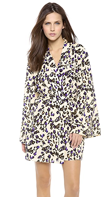La Fee Verte LFV Bell Sleeve Robe