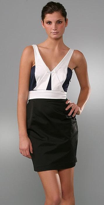 Laila Azhar Origami Mini Dress