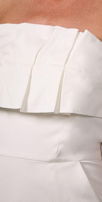 Laila Azhar Strapless Dress with Pockets