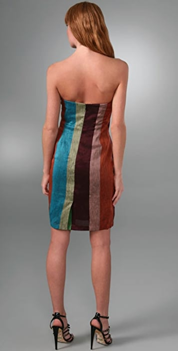 L.A.M.B. Sweet Stripe Dress