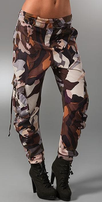 L.A.M.B. Camo Cargo Pants