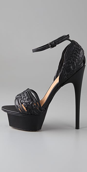 L.A.M.B. Kesha Platform Sandals