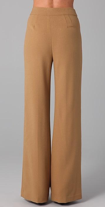 L.A.M.B. High Waist Wide Leg Pants