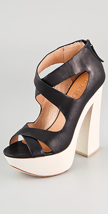 L.A.M.B. Minny Platform Sandals