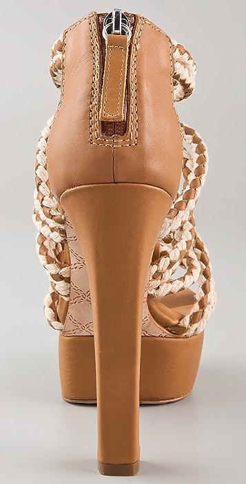 L.A.M.B. Morisa Platform Sandals