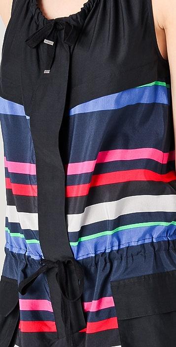 L.A.M.B. Bold Striped Romper