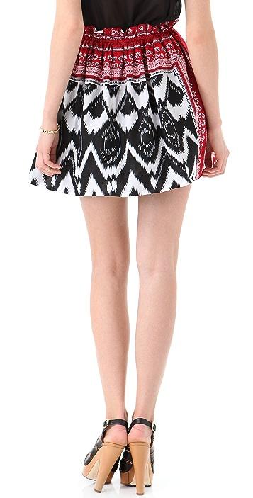 L.A.M.B. Print Skirt