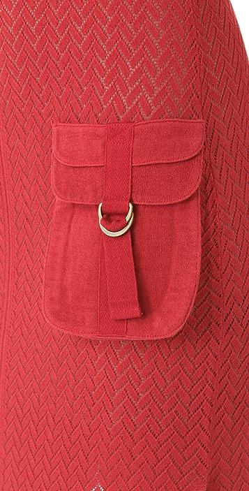 L.A.M.B. Knit Cargo Maxi Dress