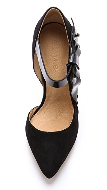 L.A.M.B. Nadeen Mary Jane Pumps