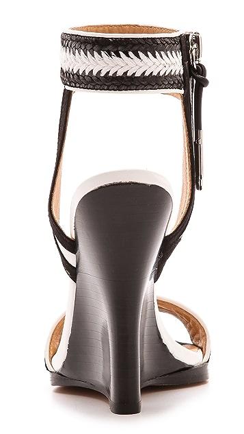 L.A.M.B. Fina Wedge Sandals
