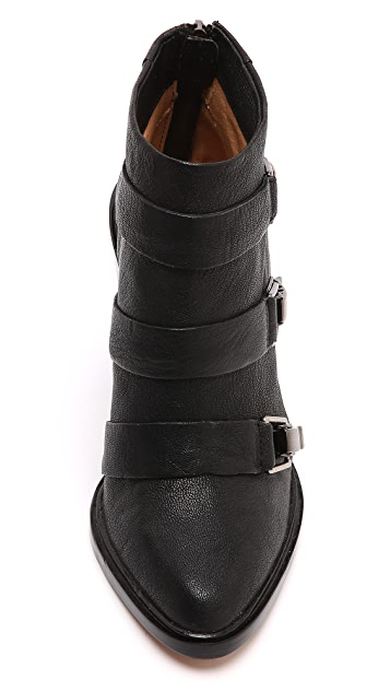 L.A.M.B. Toby Buckle Booties