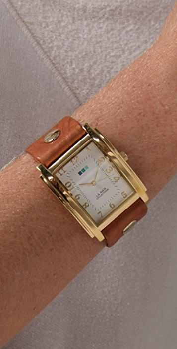 La Mer Collections Oversized Square Watch