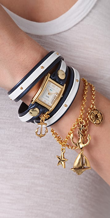 La Mer Collections Portofino Wrap Watch