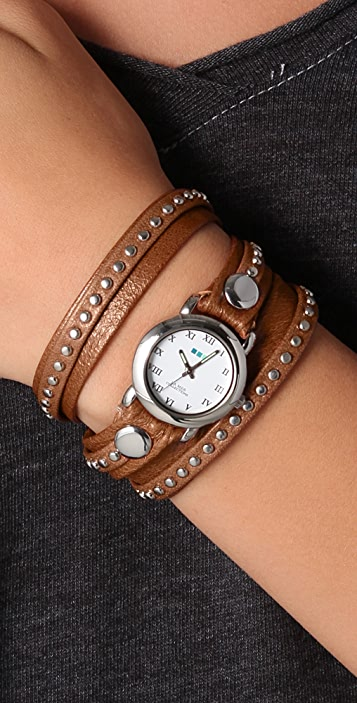 La Mer Collections Bali Studs Watch