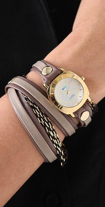 La Mer Collections Aperitif Chain Wrap Watch