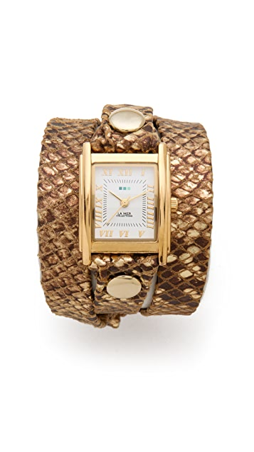 La Mer Collections Simple Wrap Watch